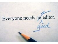 Editing, Proofreading, Academic and Creative Writing