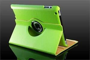 360 Ipad 2/3/4 Magnetic Leather Case- Green
