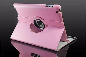 360 Ipad 2/3/4 Magnetic Leather Case- Pink