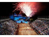 2x Edinburgh tattoo tickets including programme this fri 17th
