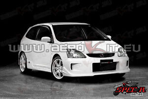 honda civic ep ep3 type r 01 05 body kit bodykit front. Black Bedroom Furniture Sets. Home Design Ideas