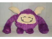 WANTED soft purple toy monster