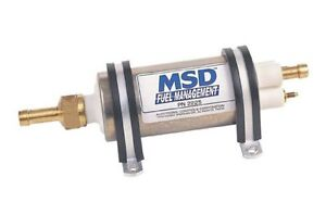 MSD FUEL PUMP HIGH PRESSURE FLOW POMPE ESSENCE PERFORMANCE NEW