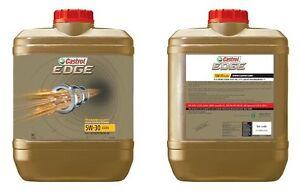 10 liter!!! Fully Synthetic Castrol EDGE 5W30 A3 B4 Engine Oil Sydney City Inner Sydney Preview