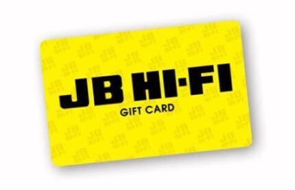 JB Hi Fi Gift Card $250