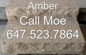 Amber Steps Flamed Granite Steps Beige Granite Steps
