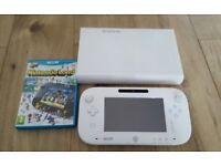 Wii U white, 8gb in very good condition