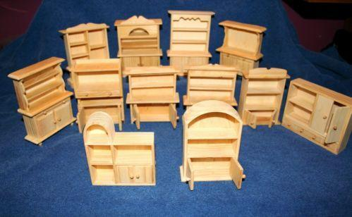 Unfinished Doll Furniture Ebay