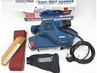 Draper 75mm Belt Sander 850W