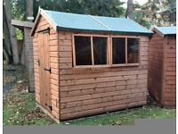 Shed for Sale - Heavy Duty Apex Shed 8 x 6 in 19mm cladding (ex display model)