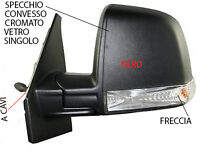 SPECCHIO FIAT DOBLO /'10/> ELETTRICO TERMICO 2 VETRI FRECCIA DA VERNICIARE DESTRO