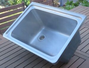 Laundry Trough Radiant Stainless Steel Brighton Bayside Area Preview
