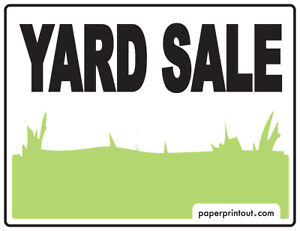 YARD SALE! 327 Lambton Cr (June 3rd) 9 am-2pm