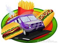 Burger van / snack bar for hire at your house or event