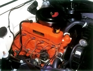 1962-67 Chevy ll four cylinder engine