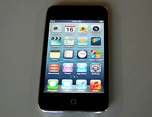 Apple ipod 4th gen touch 16gb