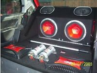 CAR SUBWOOFERS AND DVD PLAYERS FOR SALE - CD/RADIO/DVD/TV/AUX/ALL CARS
