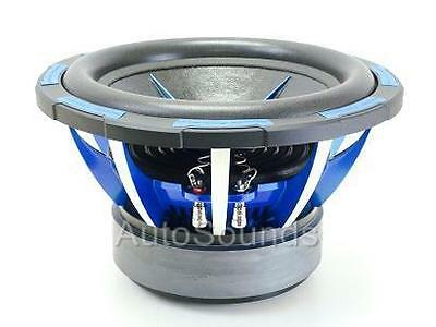 "NEW POWER ACOUSTIK MOFO-124X 2700 WATT 12"" DUAL 4 OHM CAR AUDIO SUBWOOFER"