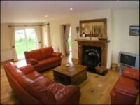 Rathmullan beach cottages with direct access to sandy beach
