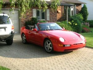 Porsche 968 cabriolet de collection