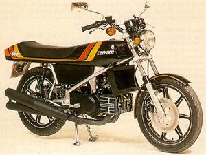 Recherche moto Can-am 500cc route.