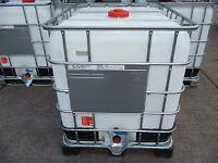 IBC water tank, 1000lts capacity.