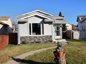 HOUSE FOR RENT IN NORTH EDMONTON BELLE RIVE