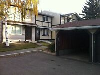 GREAT VALUE!! - 3Bdrm fin bsmnt w garage by Century Park LRT!!!