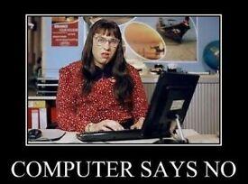 Computer Says No! IT Engineer