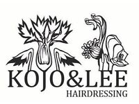 NOW RECRUITING HAIR STYLISTS & COLOURISTS ! Kojo&Lee is a new and fresh approach to hairdressing .