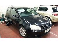 55plt Volkswagen Golf Gt Tdi 2.0 CHOICE OF Cheap cars P/ex SWAP consid OTHER CARS BY LINK fords bmw