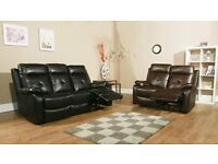 Brand New Recliner Sofa Set - £495 - Plus delivery