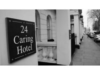 Night Receptionist Wanted for Hotel near Paddington