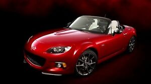 2015 Mazda MAZDASPEED MX-5 Miata Black Convertible