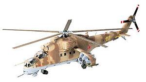 Tamiya 1/72 60705 MIL MI-24 HIND Gunship Attack Helicopter from Japan Rare