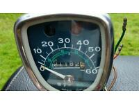Speedo clock