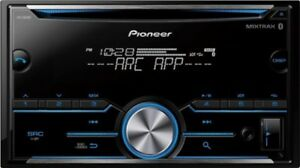 Pioneer FH-S501BT Bluetooth Double Din CD bleithoth  comme neuf
