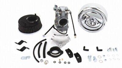 99-06 Harley Twin Cam Mikuni 45mm Carburetor Air Cleaner Intake Kit 82087