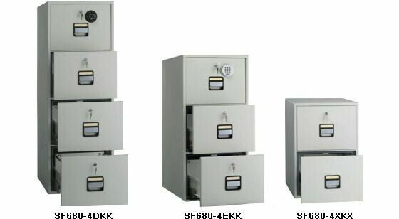Fire Proof Filing Cabinet & Cupboards with good fire rating on promotion for sale