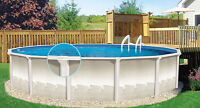 Salt Water Pool - Esprit II Classic Above Ground Pool 18ft round