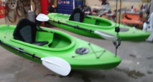 Two single person Kayaks available for trade