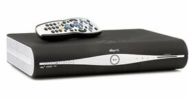 SKY+ FREE VIEW HD BOX with remote and power cable , not used now