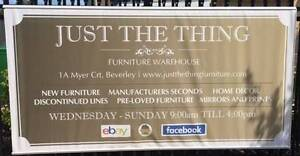 Just the Thing - Furniture Warehouse Beverley Charles Sturt Area Preview