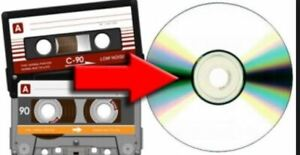 Service for converting audio-tapes/audio--cassettes to audioCD