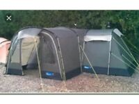 Kampa Pendine 8 berth person man family tent with additional canopy