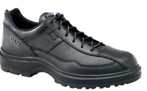 HAIX AIRPOWER C7 100304 Mens Leather Police Shoes Sz 11.5 Wide