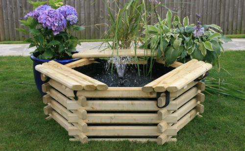Raised garden pond ebay for Fish suitable for small pond