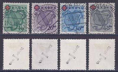 Französische Zone - Baden Mi. Nr. 42 A / 45 A geprüft Stempel falsch a 1949 (26)