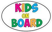 Kids on Board Sticker
