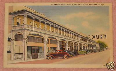 Richardson Building (Richardson Building, Sulphur Springs, Florida)